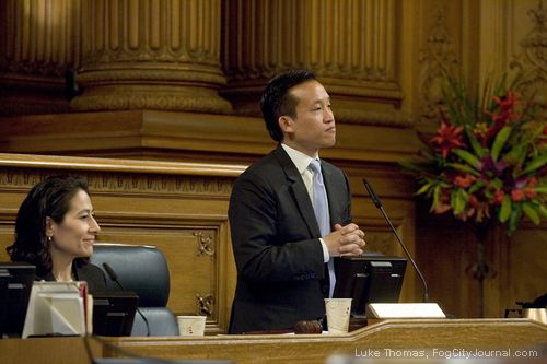 Board of Supervisors President David Chiu. Photo: Luke Thomas, ##http://www.fogcityjournal.com/wordpress/##Fog City Journal##