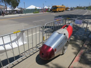 Velomobile at Maker Faire.