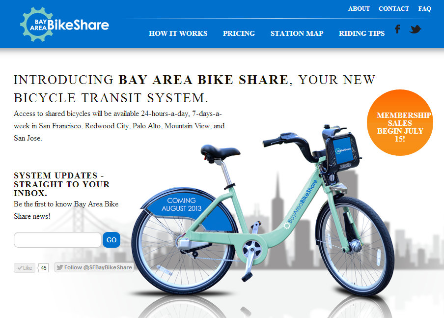 City Bikes San Francisco Bay Area Bike Share Releases