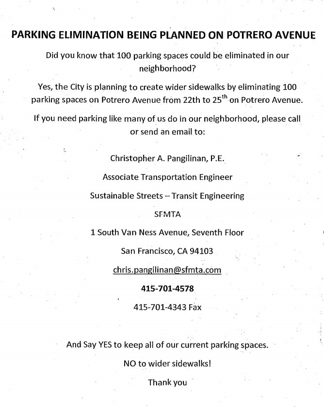 Parking-Obsessed Extremists Threaten Plan for Safer ...