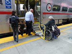 Caltrain Wheelchair