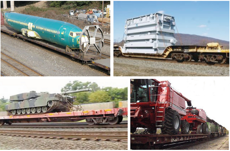 Large Rail Freight Items