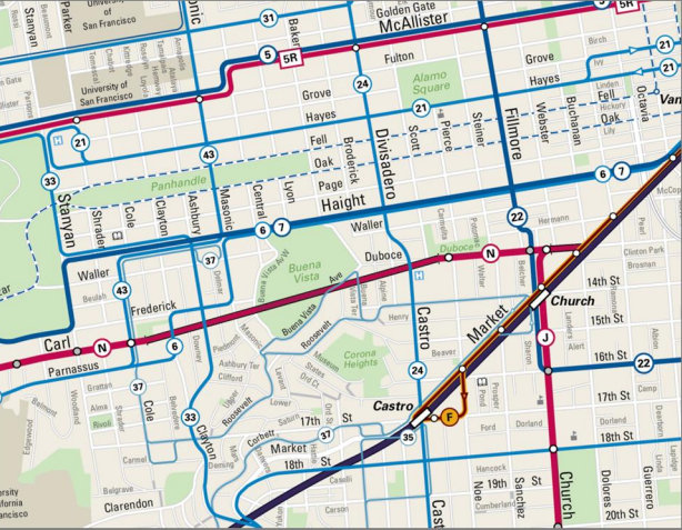 Muni To Launch A New More Legible Map Streetsblog San Francisco - San francisco rail map