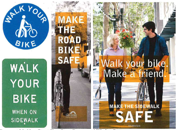 Walk_Your_Bike_signs_and_banners