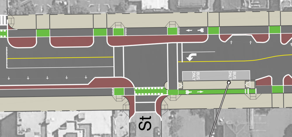 Parking-Protected Bike Lanes Partially Back in Oakland's ...