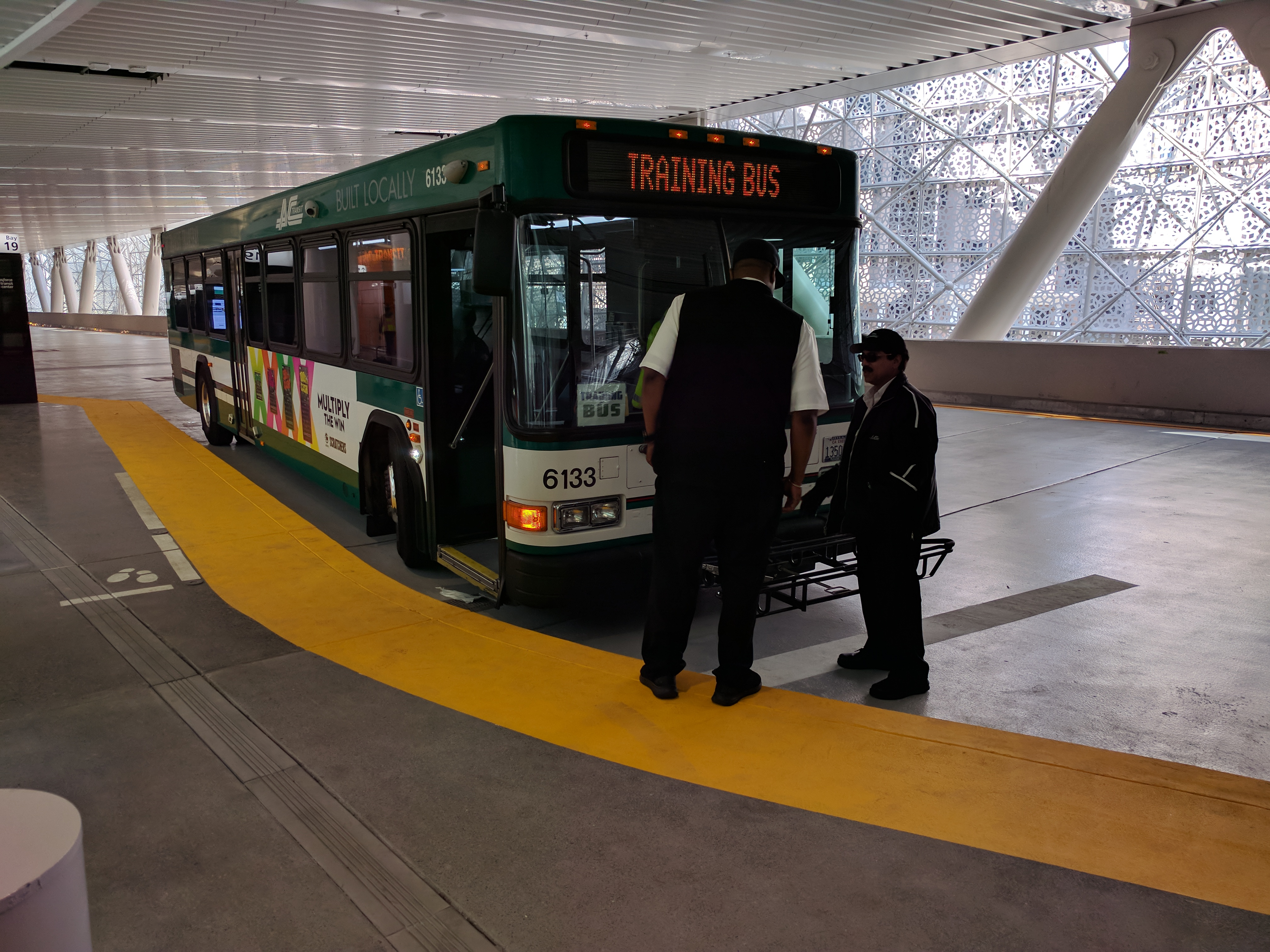 Buses will be able to proceed directly to the upper and lower decks of the bridge, without competing with private cars for space on the bridge ramps and city streets. Once on the bridge, it's back to Bay Area traffic